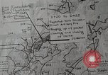 Image of 1st Marine Division situation map Peleliu Palau Islands, 1944, second 26 stock footage video 65675022858