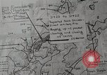 Image of 1st Marine Division situation map Peleliu Palau Islands, 1944, second 27 stock footage video 65675022858