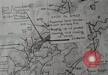 Image of 1st Marine Division situation map Peleliu Palau Islands, 1944, second 28 stock footage video 65675022858