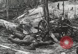 Image of 5th Marine Regiment, 1st Marine Division, in action against Japanese f Peleliu Palau Islands, 1944, second 30 stock footage video 65675022859