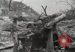 Image of 5th Marine Regiment, 1st Marine Division, in action against Japanese f Peleliu Palau Islands, 1944, second 46 stock footage video 65675022859