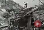 Image of 5th Marine Regiment, 1st Marine Division, in action against Japanese f Peleliu Palau Islands, 1944, second 49 stock footage video 65675022859