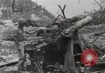 Image of 5th Marine Regiment, 1st Marine Division, in action against Japanese f Peleliu Palau Islands, 1944, second 50 stock footage video 65675022859