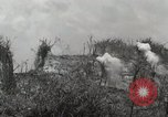 Image of 5th Marine Regiment, 1st Marine Division, in action against Japanese f Peleliu Palau Islands, 1944, second 52 stock footage video 65675022859