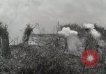 Image of 5th Marine Regiment, 1st Marine Division, in action against Japanese f Peleliu Palau Islands, 1944, second 53 stock footage video 65675022859