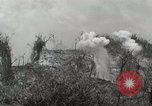 Image of 5th Marine Regiment, 1st Marine Division, in action against Japanese f Peleliu Palau Islands, 1944, second 54 stock footage video 65675022859