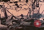 Image of Waterfront destruction  Palau Islands, 1944, second 18 stock footage video 65675022883