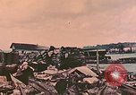 Image of Waterfront destruction  Palau Islands, 1944, second 62 stock footage video 65675022883