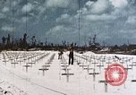 Image of U.S. Armed Forces Cemetery No. 1 Peleliu Palau Islands, 1944, second 6 stock footage video 65675022888