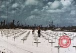 Image of U.S. Armed Forces Cemetery No. 1 Peleliu Palau Islands, 1944, second 8 stock footage video 65675022888