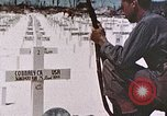 Image of U.S. Armed Forces Cemetery No. 1 Peleliu Palau Islands, 1944, second 15 stock footage video 65675022888