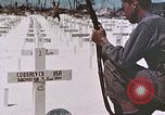 Image of U.S. Armed Forces Cemetery No. 1 Peleliu Palau Islands, 1944, second 18 stock footage video 65675022888