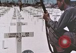 Image of U.S. Armed Forces Cemetery No. 1 Peleliu Palau Islands, 1944, second 19 stock footage video 65675022888