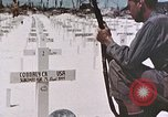 Image of U.S. Armed Forces Cemetery No. 1 Peleliu Palau Islands, 1944, second 21 stock footage video 65675022888