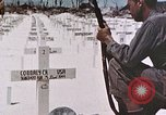 Image of U.S. Armed Forces Cemetery No. 1 Peleliu Palau Islands, 1944, second 22 stock footage video 65675022888