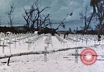 Image of U.S. Armed Forces Cemetery No. 1 Peleliu Palau Islands, 1944, second 37 stock footage video 65675022888