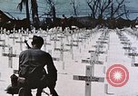 Image of U.S. Armed Forces Cemetery No. 1 Peleliu Palau Islands, 1944, second 46 stock footage video 65675022888