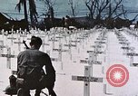 Image of U.S. Armed Forces Cemetery No. 1 Peleliu Palau Islands, 1944, second 48 stock footage video 65675022888