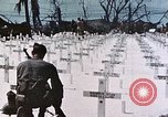 Image of U.S. Armed Forces Cemetery No. 1 Peleliu Palau Islands, 1944, second 51 stock footage video 65675022888