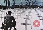 Image of U.S. Armed Forces Cemetery No. 1 Peleliu Palau Islands, 1944, second 52 stock footage video 65675022888