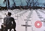 Image of U.S. Armed Forces Cemetery No. 1 Peleliu Palau Islands, 1944, second 56 stock footage video 65675022888