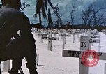 Image of U.S. Armed Forces Cemetery No. 1 Peleliu Palau Islands, 1944, second 58 stock footage video 65675022888