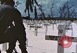 Image of U.S. Armed Forces Cemetery No. 1 Peleliu Palau Islands, 1944, second 60 stock footage video 65675022888