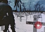 Image of U.S. Armed Forces Cemetery No. 1 Peleliu Palau Islands, 1944, second 62 stock footage video 65675022888