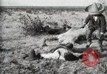 Image of federal soldiers Ojinaga Mexico, 1913, second 18 stock footage video 65675023029