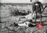 Image of federal soldiers Ojinaga Mexico, 1913, second 19 stock footage video 65675023029