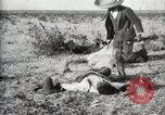 Image of federal soldiers Ojinaga Mexico, 1913, second 20 stock footage video 65675023029