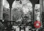 Image of Spanish Patio Mexico City Mexico, 1925, second 18 stock footage video 65675023038