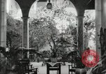 Image of Spanish Patio Mexico City Mexico, 1925, second 19 stock footage video 65675023038