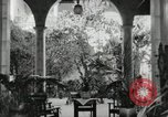 Image of Spanish Patio Mexico City Mexico, 1925, second 21 stock footage video 65675023038