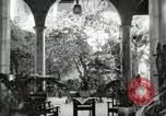 Image of Spanish Patio Mexico City Mexico, 1925, second 22 stock footage video 65675023038