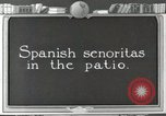Image of Spanish Patio Mexico City Mexico, 1925, second 41 stock footage video 65675023038