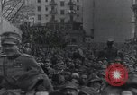 Image of Gabriele D'Annunzio and others organizing volunteers Fiume Croatia, 1919, second 55 stock footage video 65675023053