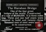 Image of Harahan Bridge Memphis Tennessee USA, 1917, second 1 stock footage video 65675023081