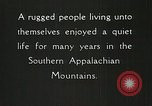 Image of Appalachian residents Marion Virginia USA, 1934, second 31 stock footage video 65675023099