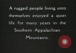 Image of Appalachian residents Marion Virginia USA, 1934, second 33 stock footage video 65675023099