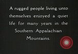 Image of Appalachian residents Marion Virginia USA, 1934, second 34 stock footage video 65675023099