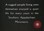 Image of Appalachian residents Marion Virginia USA, 1934, second 35 stock footage video 65675023099