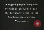 Image of Appalachian residents Marion Virginia USA, 1934, second 36 stock footage video 65675023099