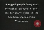 Image of Appalachian residents Marion Virginia USA, 1934, second 37 stock footage video 65675023099