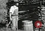 Image of rural missionary Marion Virginia USA, 1934, second 51 stock footage video 65675023103