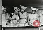 Image of pickling demonstration Campbell County Tennessee USA, 1935, second 54 stock footage video 65675023120