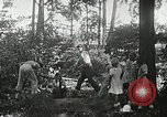 Image of Summer work camps Flint Michigan USA, 1938, second 57 stock footage video 65675023121