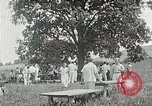 Image of Quakers picnic Saline Michigan USA, 1938, second 48 stock footage video 65675023122