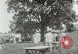 Image of Quakers picnic Saline Michigan USA, 1938, second 49 stock footage video 65675023122