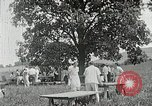 Image of Quakers picnic Saline Michigan USA, 1938, second 52 stock footage video 65675023122